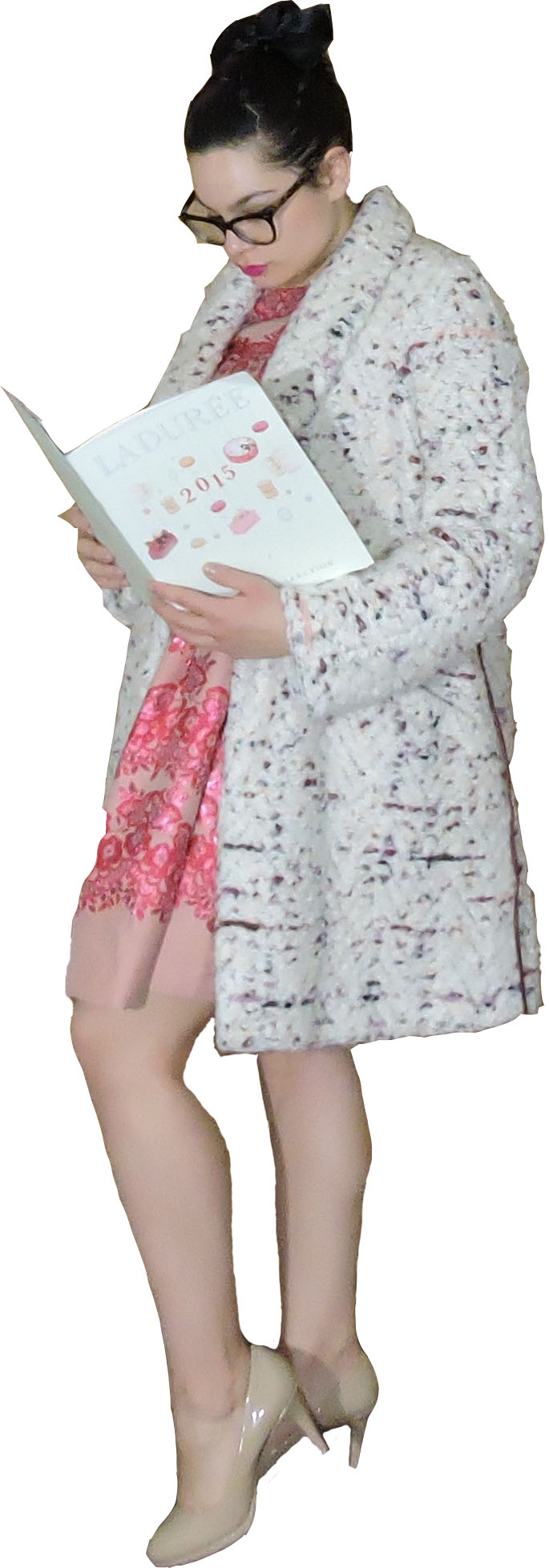 valentino dress w coat and book.jpg
