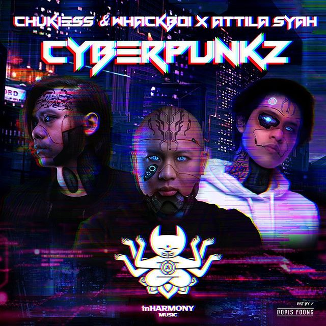 Super proud of this track release! 🔥 . And here's a gift I've designed just for them! 💪🙌 . #Cyberpunkz #inharmonymusic #cxw #attilasyah #armada #wearmada