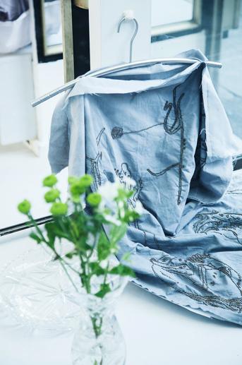 hand beaded sheet dress