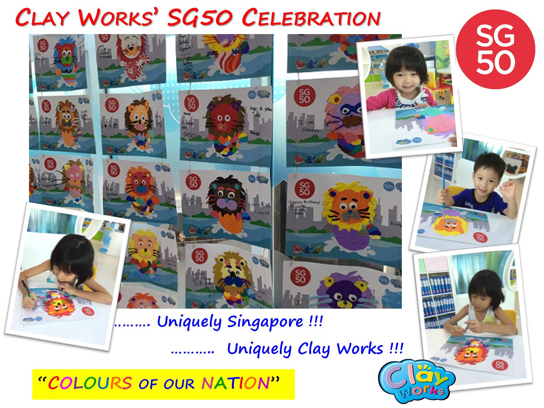 Clay Works' SG50 Celebration