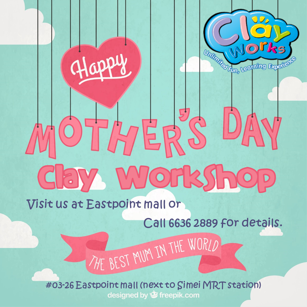 Mother's Day 2016 Clay Workshop