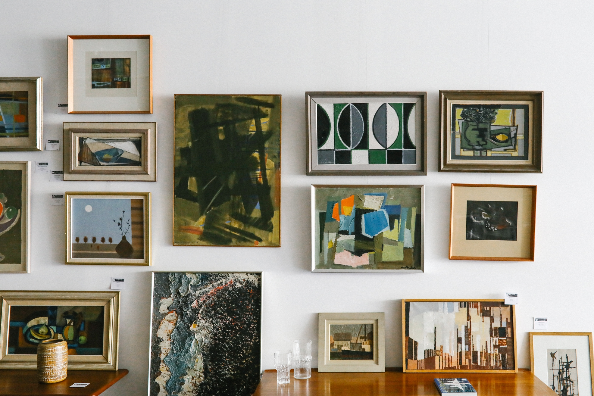 original paintings and prints from 1930 - 1970