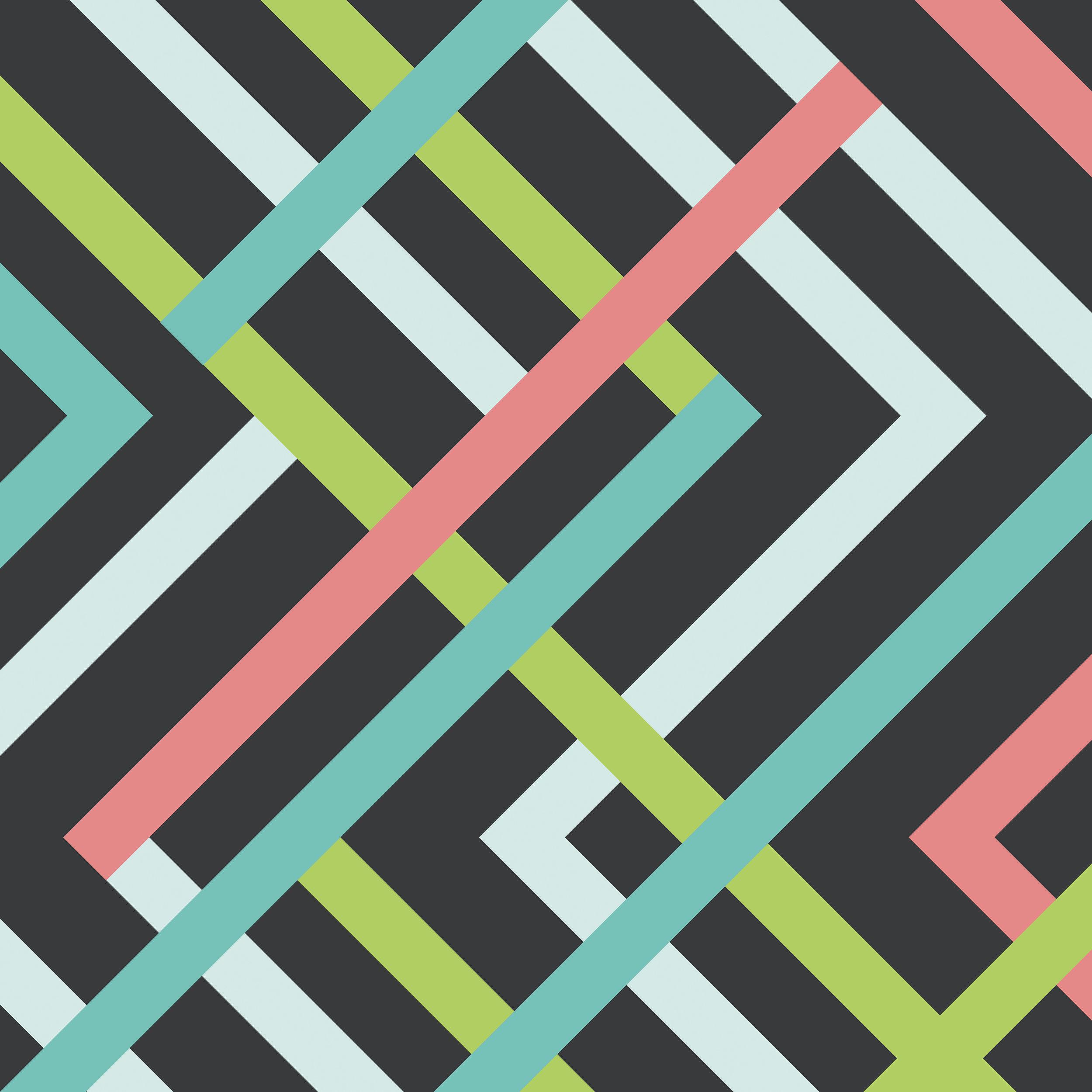 S6 Geometric Pattern 1 Clock.jpg
