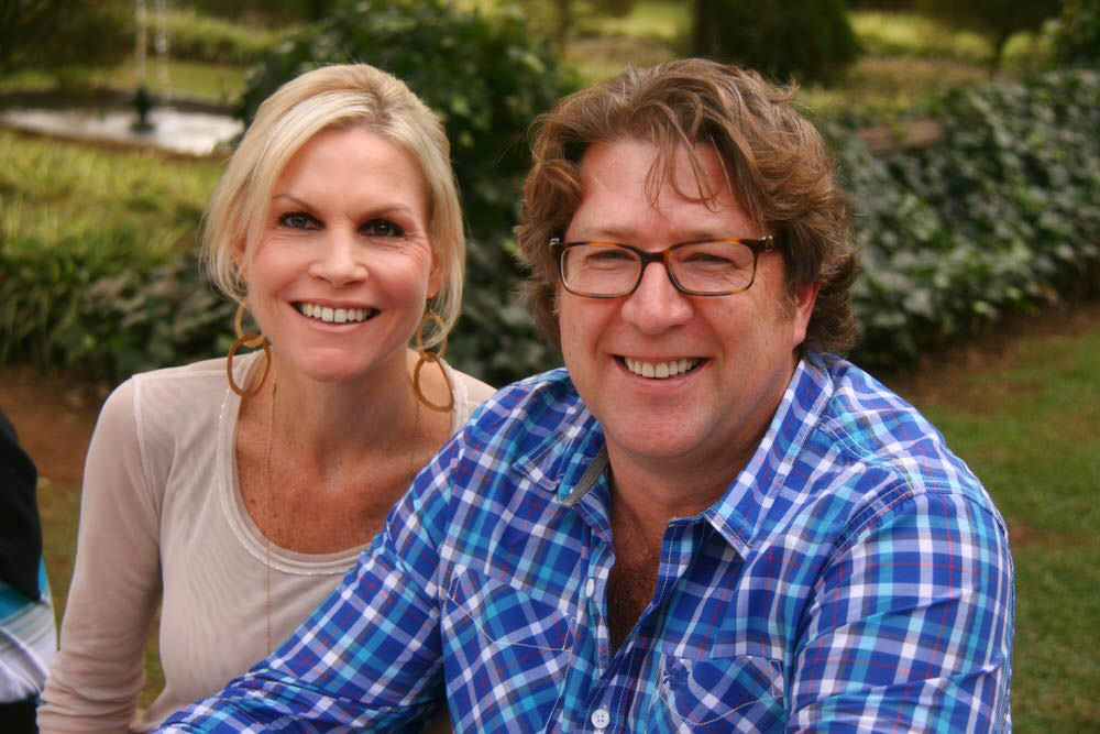 Melinda and Gary Grant