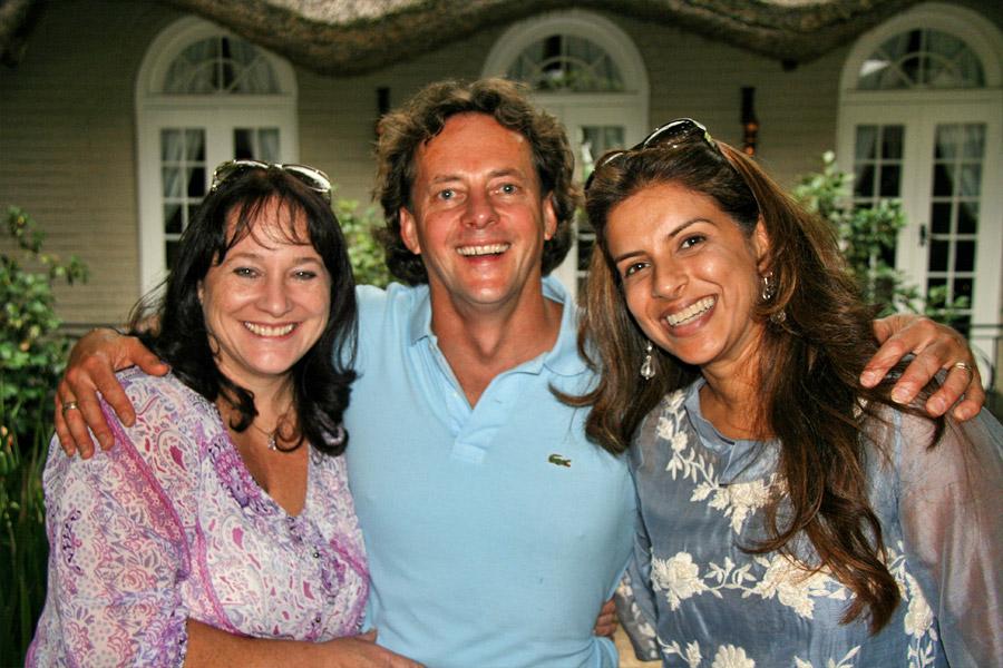 Janet McElligott, Ian Todd and Vanashree Singh