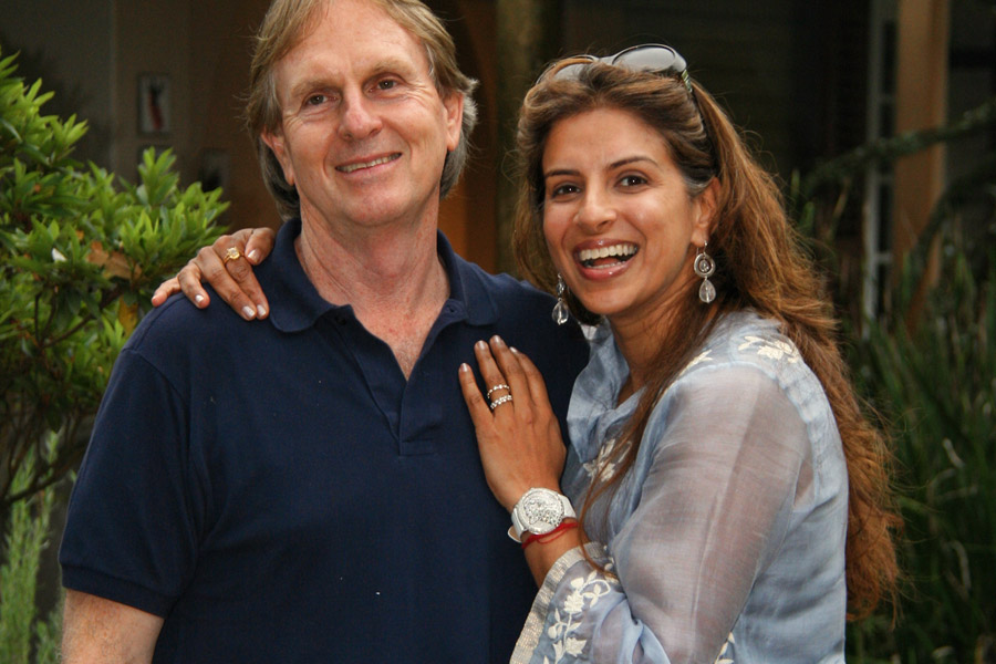 Keith Russon and Vanashree Singh