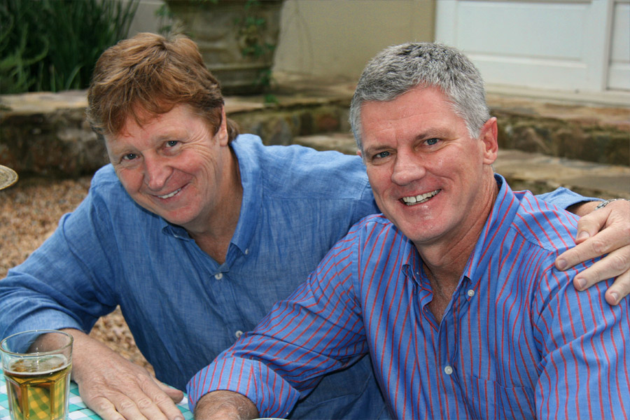 Russell Baxter and Barry Bloom