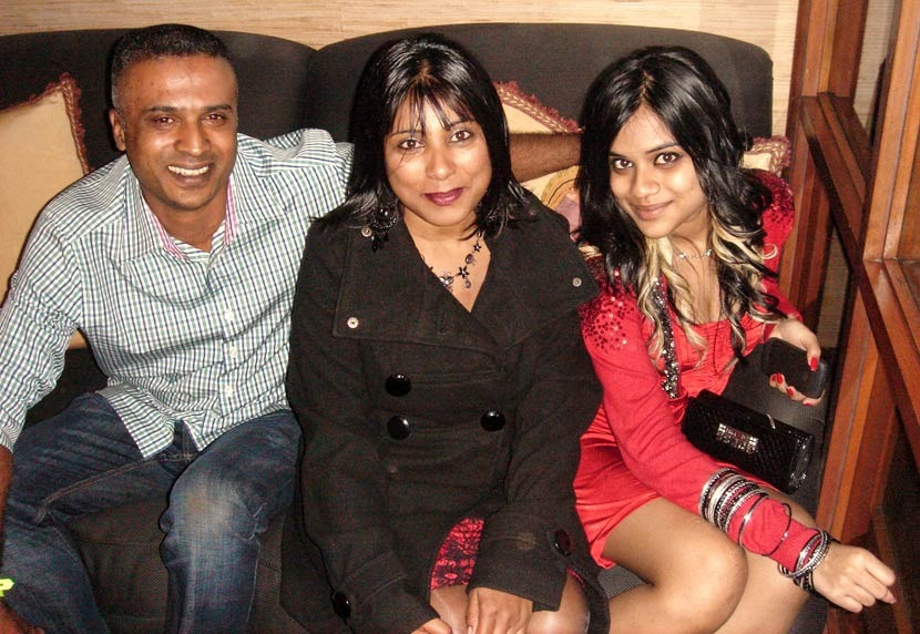 Cyril, Anne and Shannon Pillay