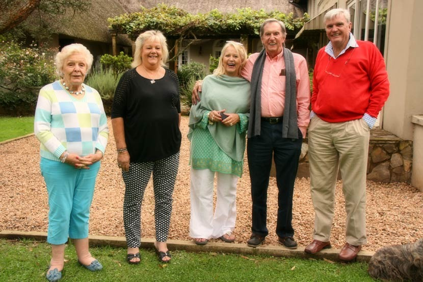Anne Veltman, Joyce Scott, Pauline and Keith Young, Robin Scott