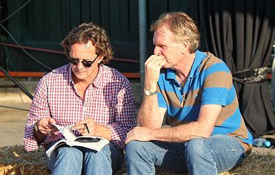 Ian Todd and Keith Russon