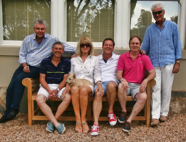 Peter Bretherton, Tony Rivalland, Vibeke Meehan, Ian Todd, Keith Russon, Mike Meehan