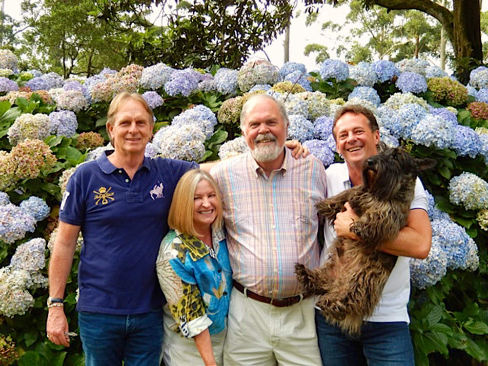 Keith Russon, Dolly & Cliff Newton (Jacksonville USA), Ian Todd & Xavier Todd Russon
