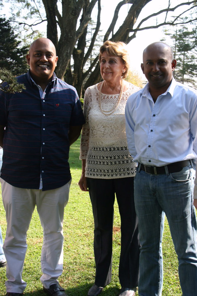 Adrian Jutniek, Mary Liley & Yogas Govender