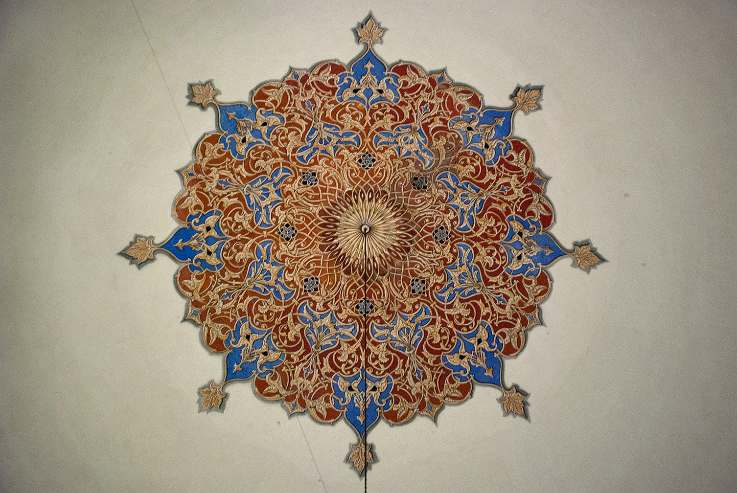 Ceiling, Yesil Tomb