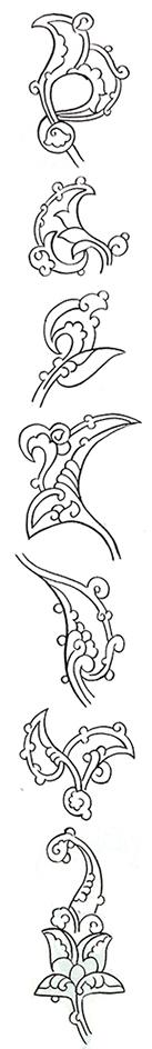 Rumi motifs