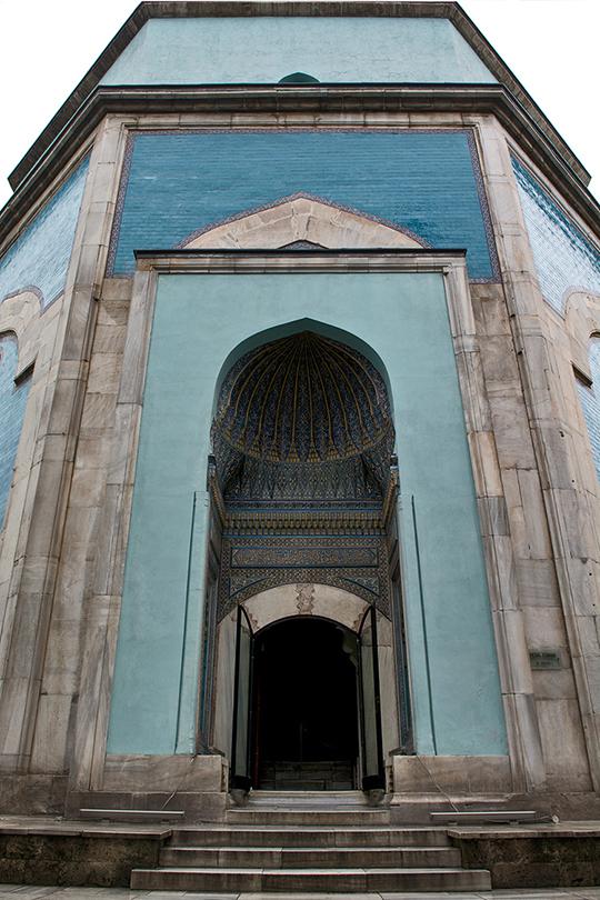 Entrance Yesil Tomb