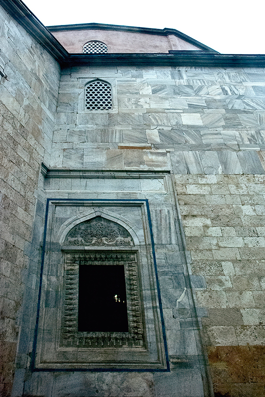 Exterior, Yesil Mosque
