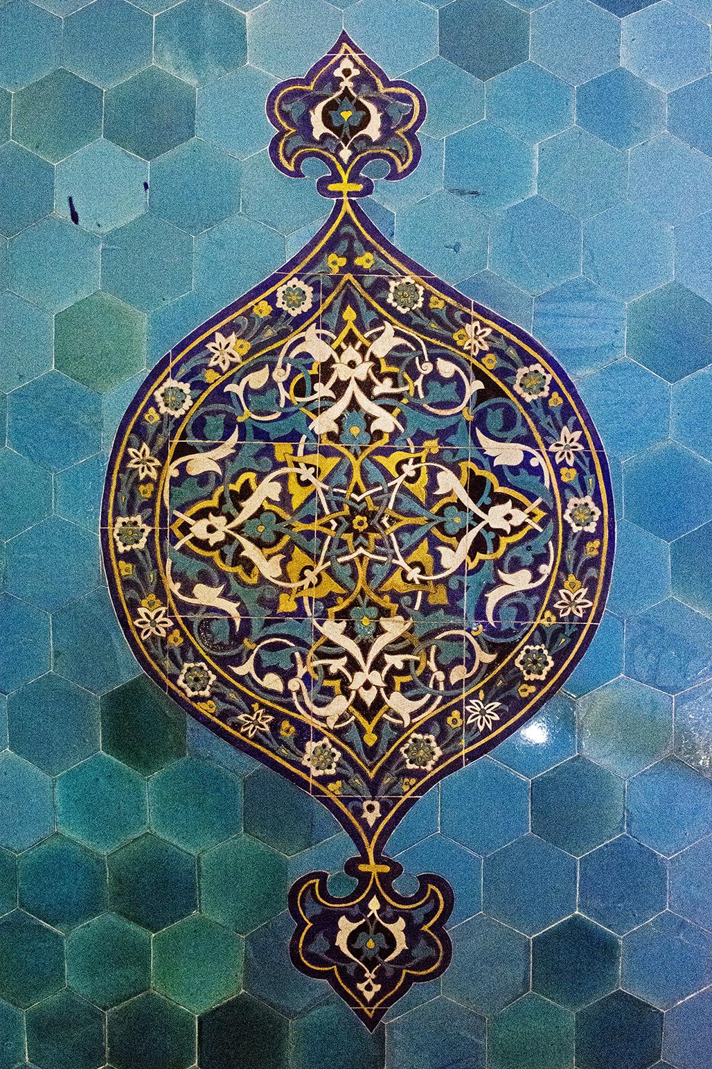 Wall tiles, Yesil Tomb