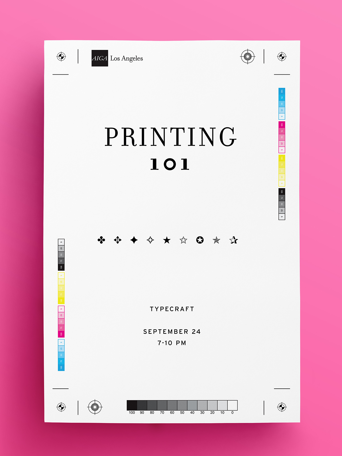 Printing 101 at Typecraft