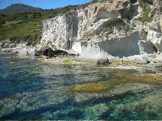 """beautiful local beach about 6 km from the garden """"S'abba Druche"""""""