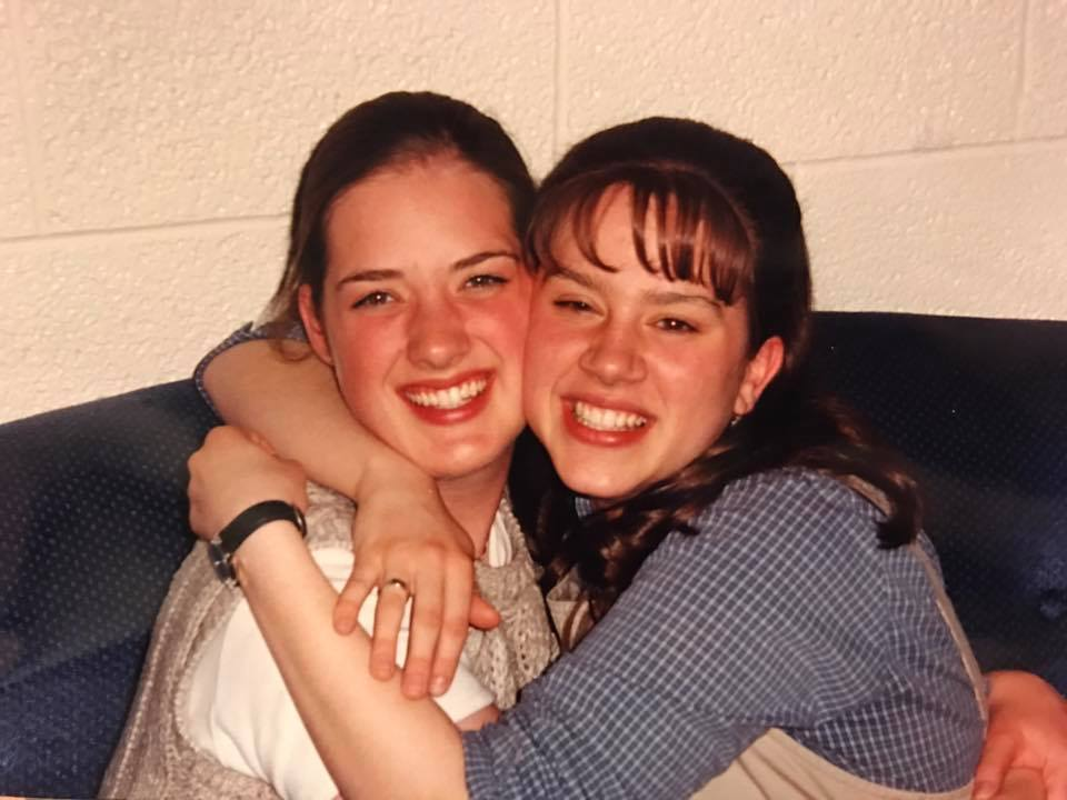 Natalie and Marianne (right).