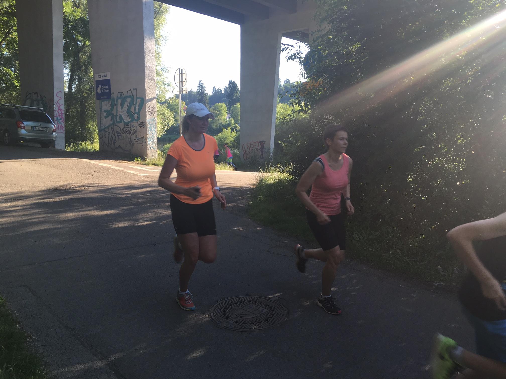 Individuální běžecké tréninky Praha, Zbraslav
