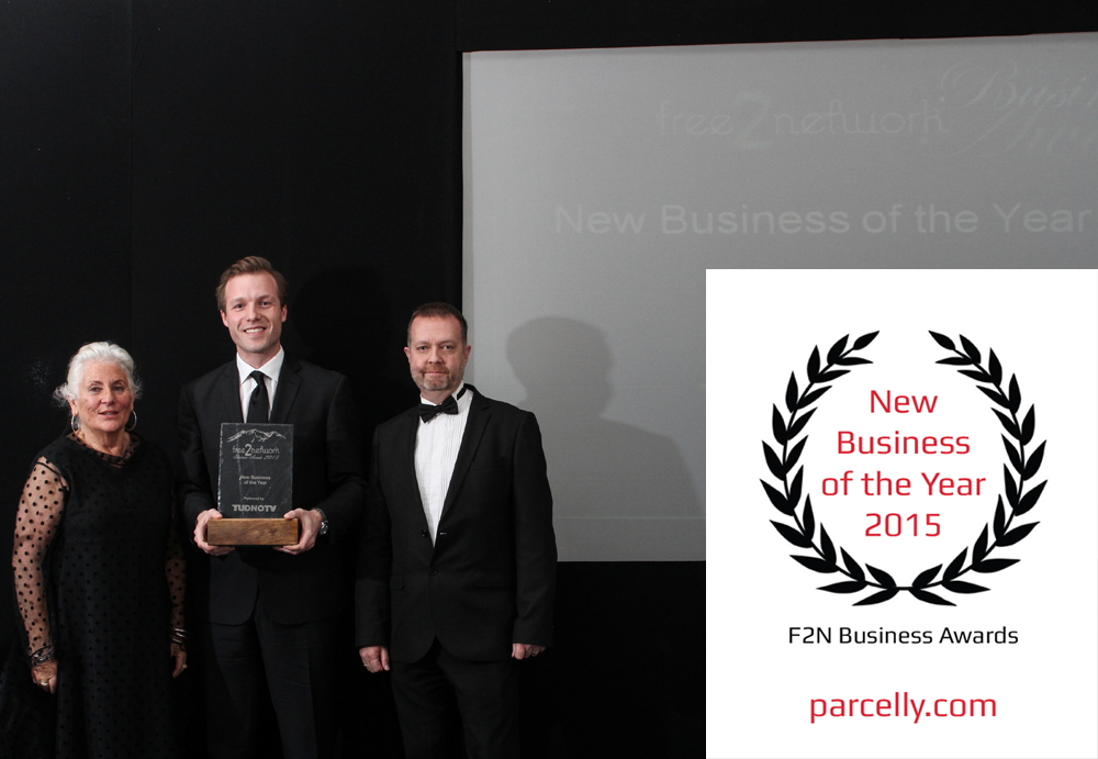 Parcelly, Sebastian Steinhauser, New Business of the Year