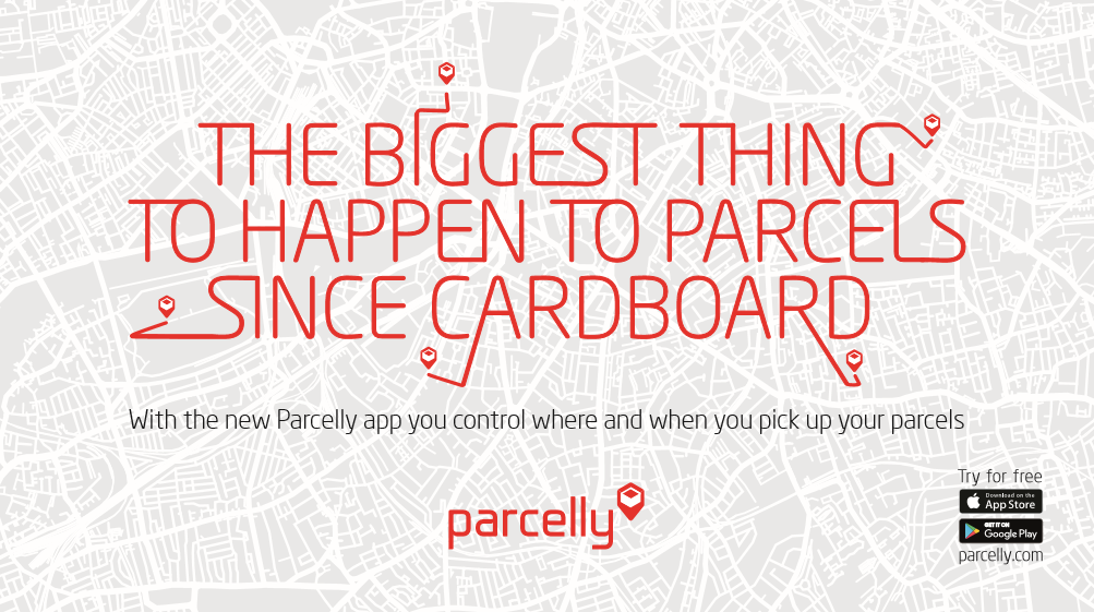 Parcelly's new advertising campaign is going live on September 26th