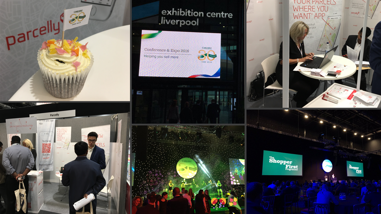 Parcelly at this year's CSG conference & Expo 2016 in Liverpool's ACC