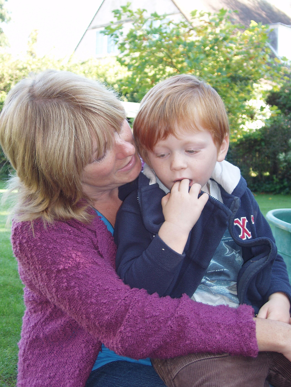 Louis cuddle.JPG