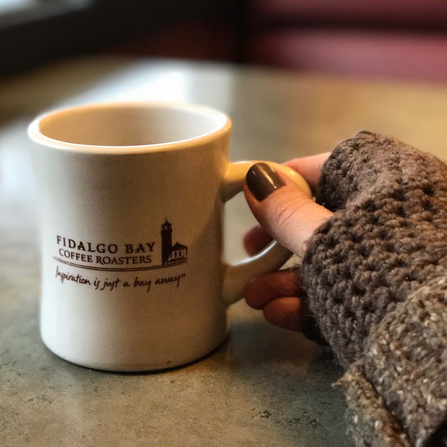 Grab a coffee and let's have a chat.