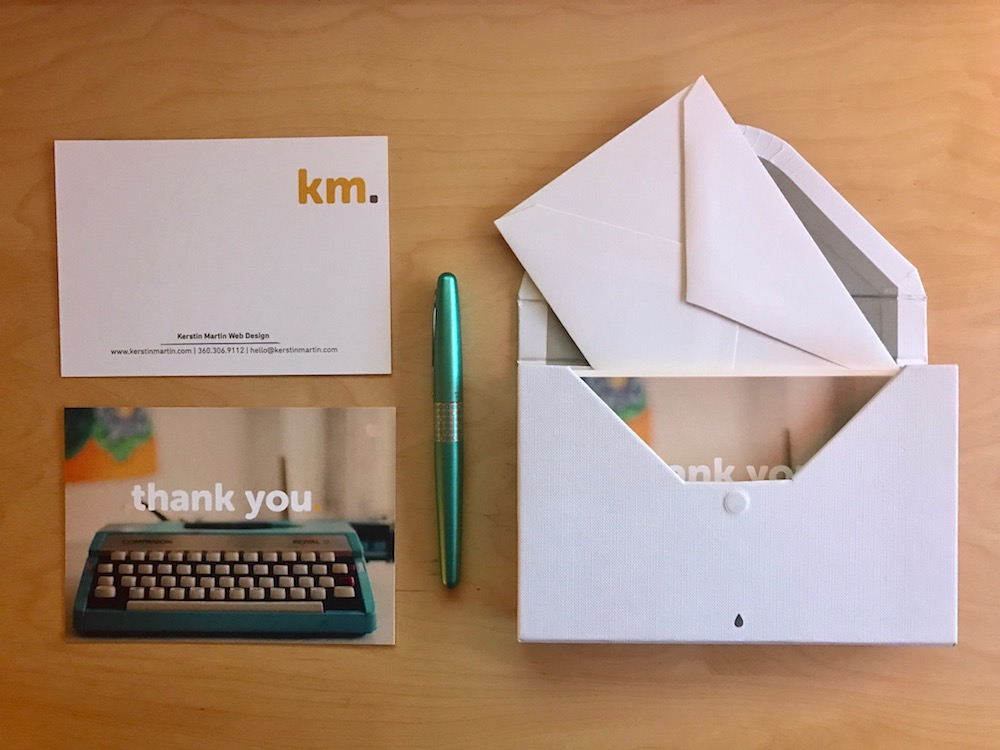 Thank you cards | kerstinmartin.com