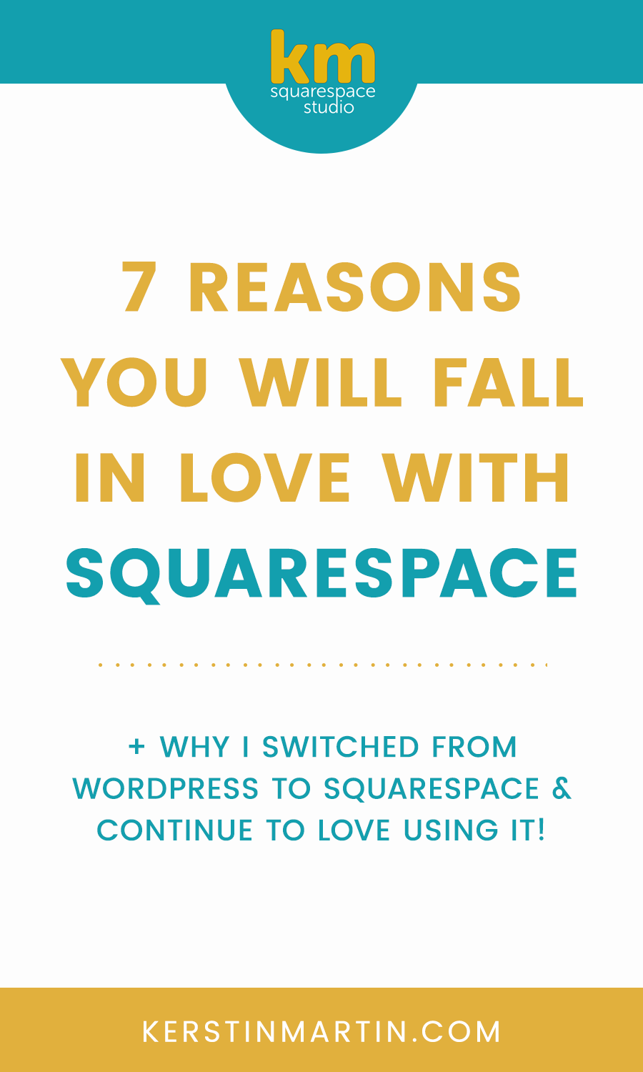 Why I fell in love with Squarespace and you might, too!