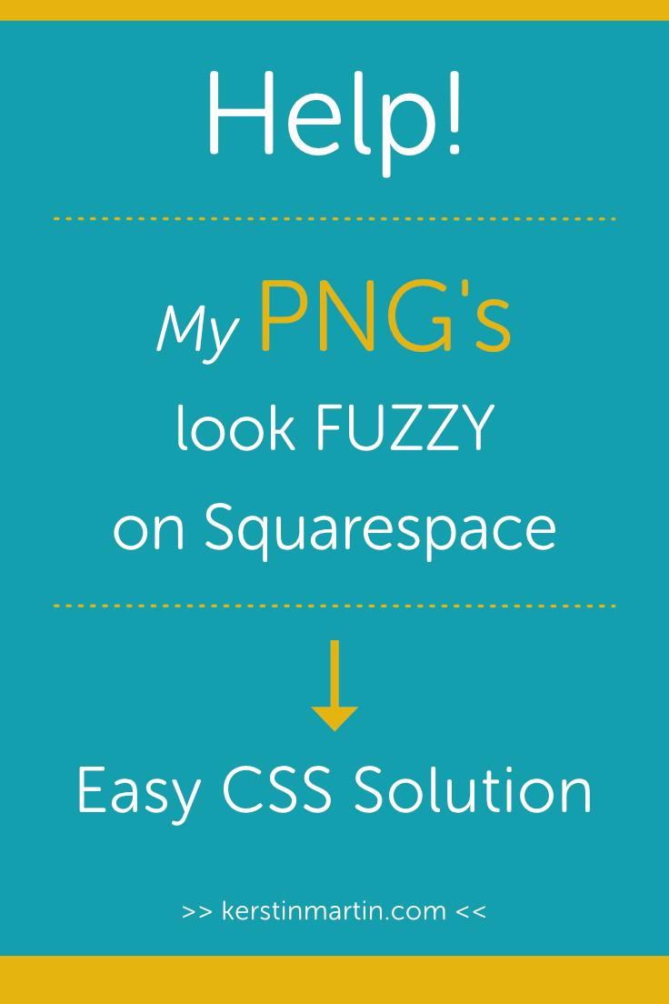 How to create crisper PNG images in Squarespace・Kerstin Martin Squarespace Studio