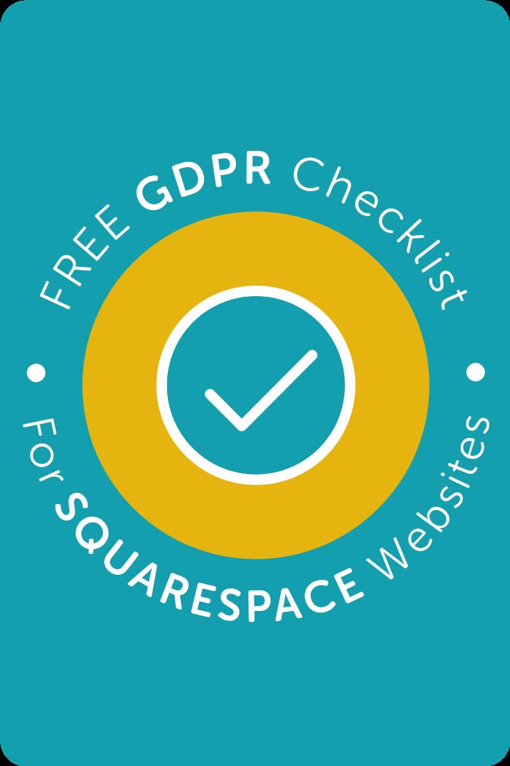 Free GDPR Checklist for Squarespace Websites・Kerstin Martin Squarespace Studio