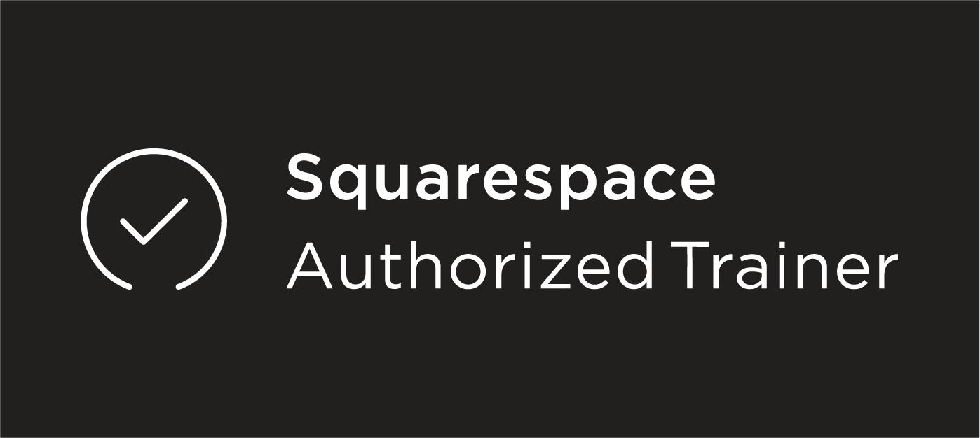 Squarespace Authorized Trainer