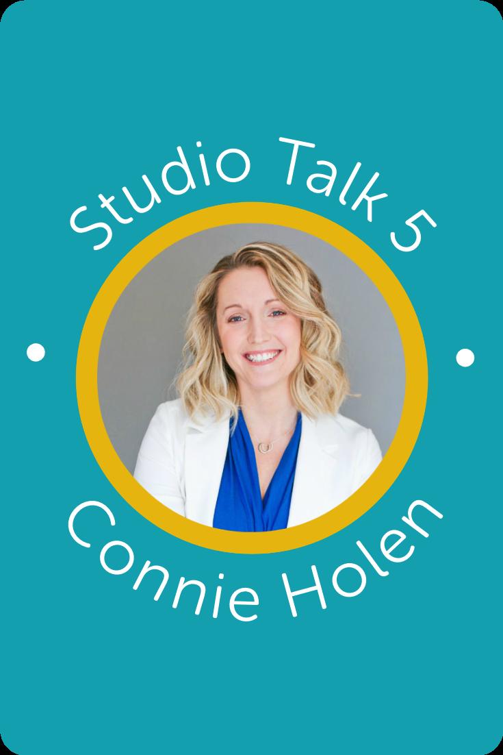 Studio Talk 5・Interviews with Squarespace Web Designers・Connie HolenKerstin Martin Squarespace Studio