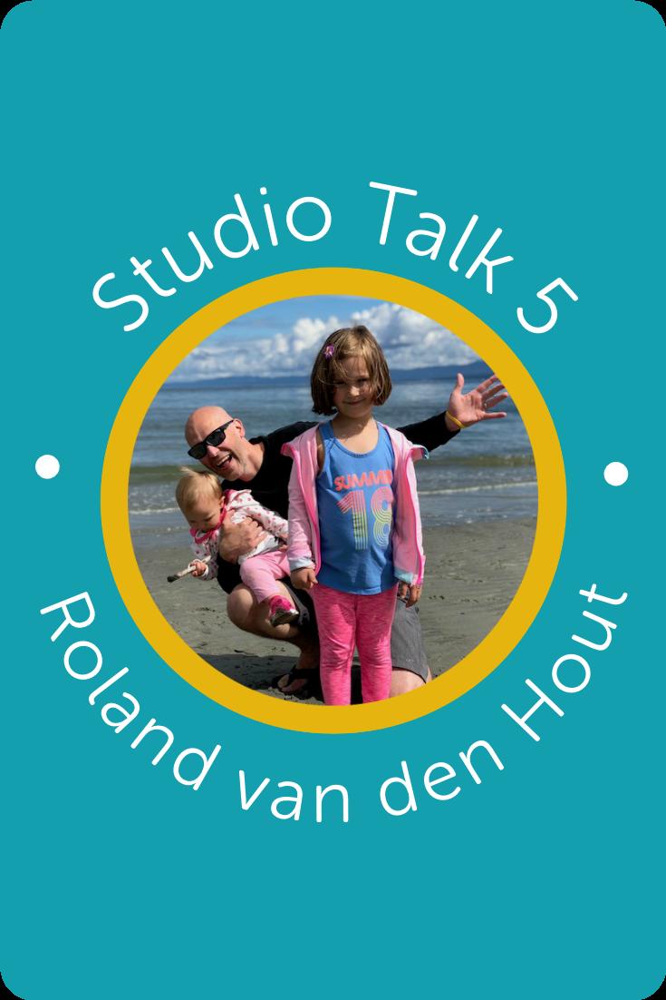 Studio Talk 5・Interviews with Squarespace Web Designers・Roland van den Hout