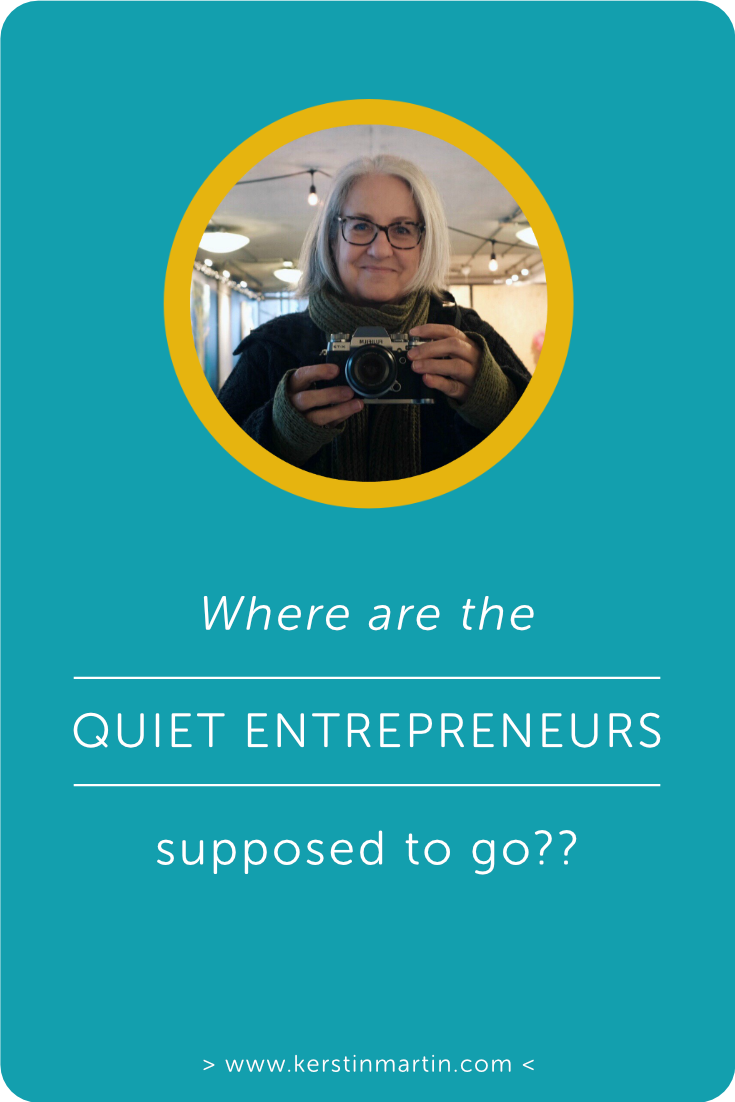 Where are the Quiet Entrepreneurs supposed to go? ・ Kerstin Martin Squarespace Studio