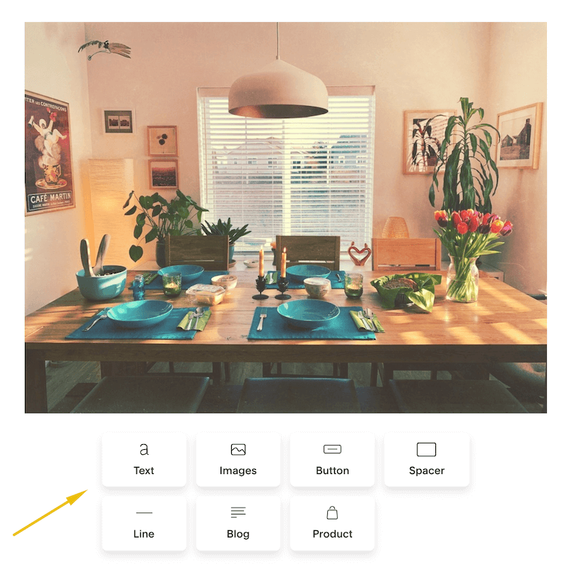 Easily add content blocks in Squarespace Campaigns・Kerstin Martin Squarespace Studio