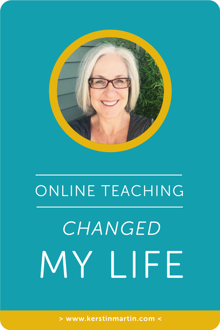 Online Teaching Changed my Life・Kerstin Martin Squarespace Studio