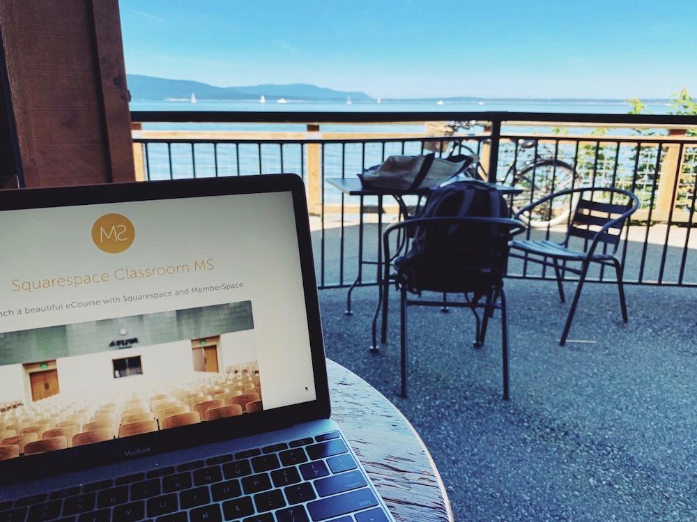 The definite Guide to Hosting your eCourse on Squarespace・Kerstin Martin Web Design