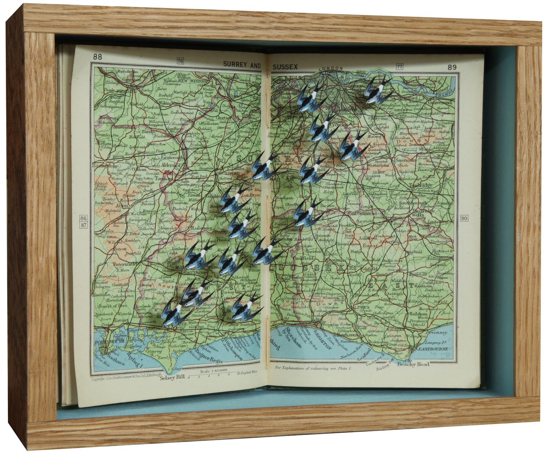 "©John Dilnot ""Pocket Atlas, Heading South"""