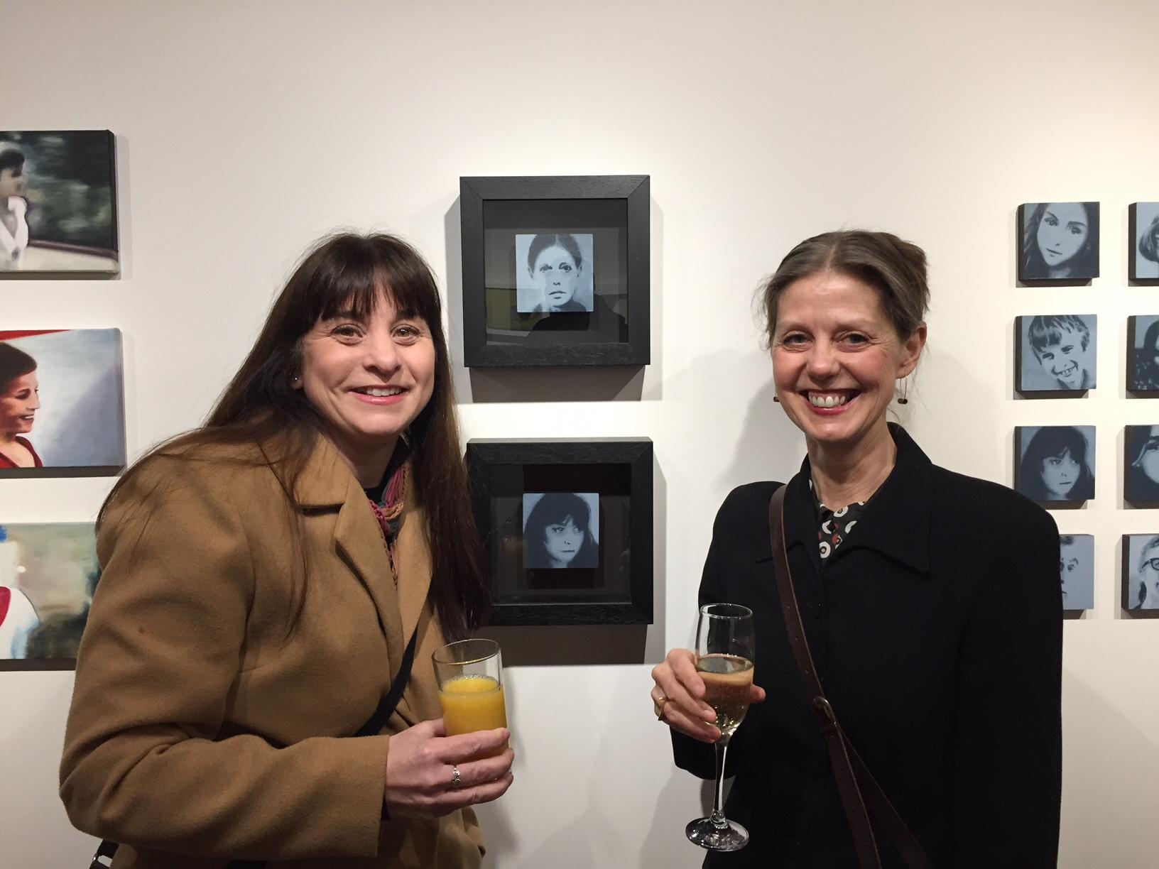 Artists Natalie Dowse & Julie Graves