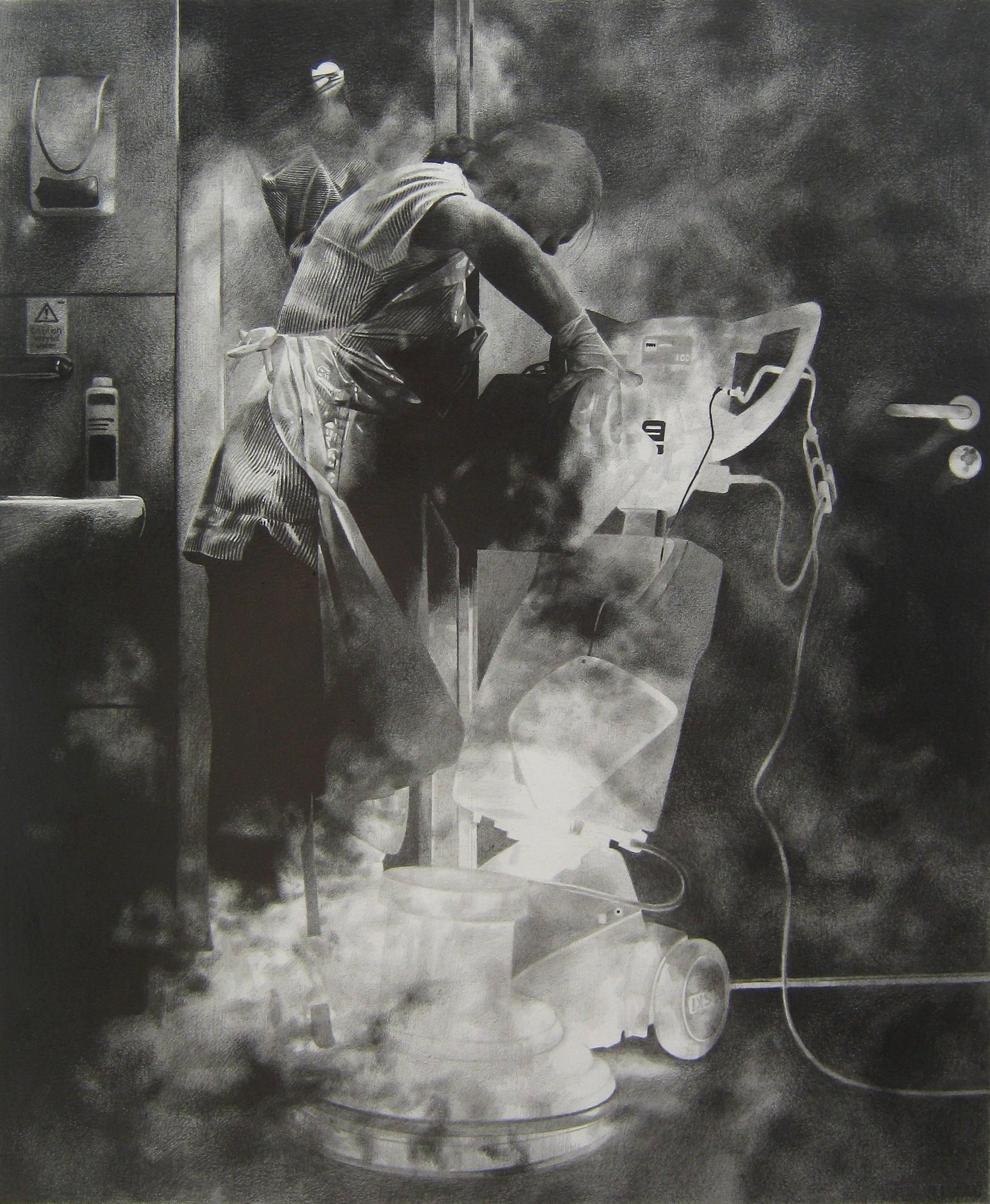 Untitled 33x40cm Graphite on Paper