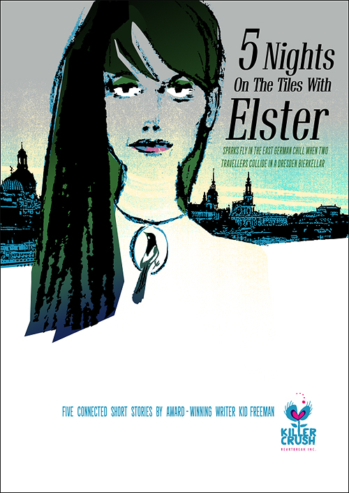 '5 Nights on the Tiles with Elster' Screenprint Ed 15 A2 £250