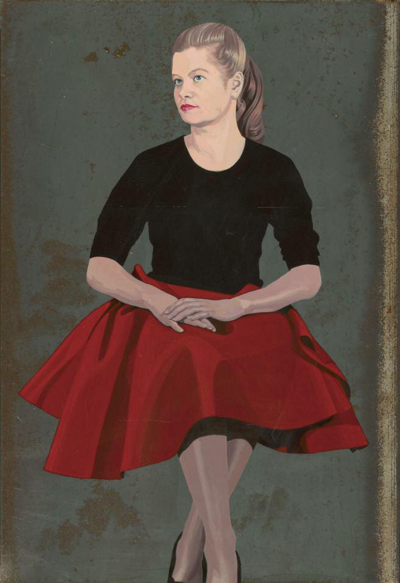 Catherine Barron-Red Nora-43x29.jpg