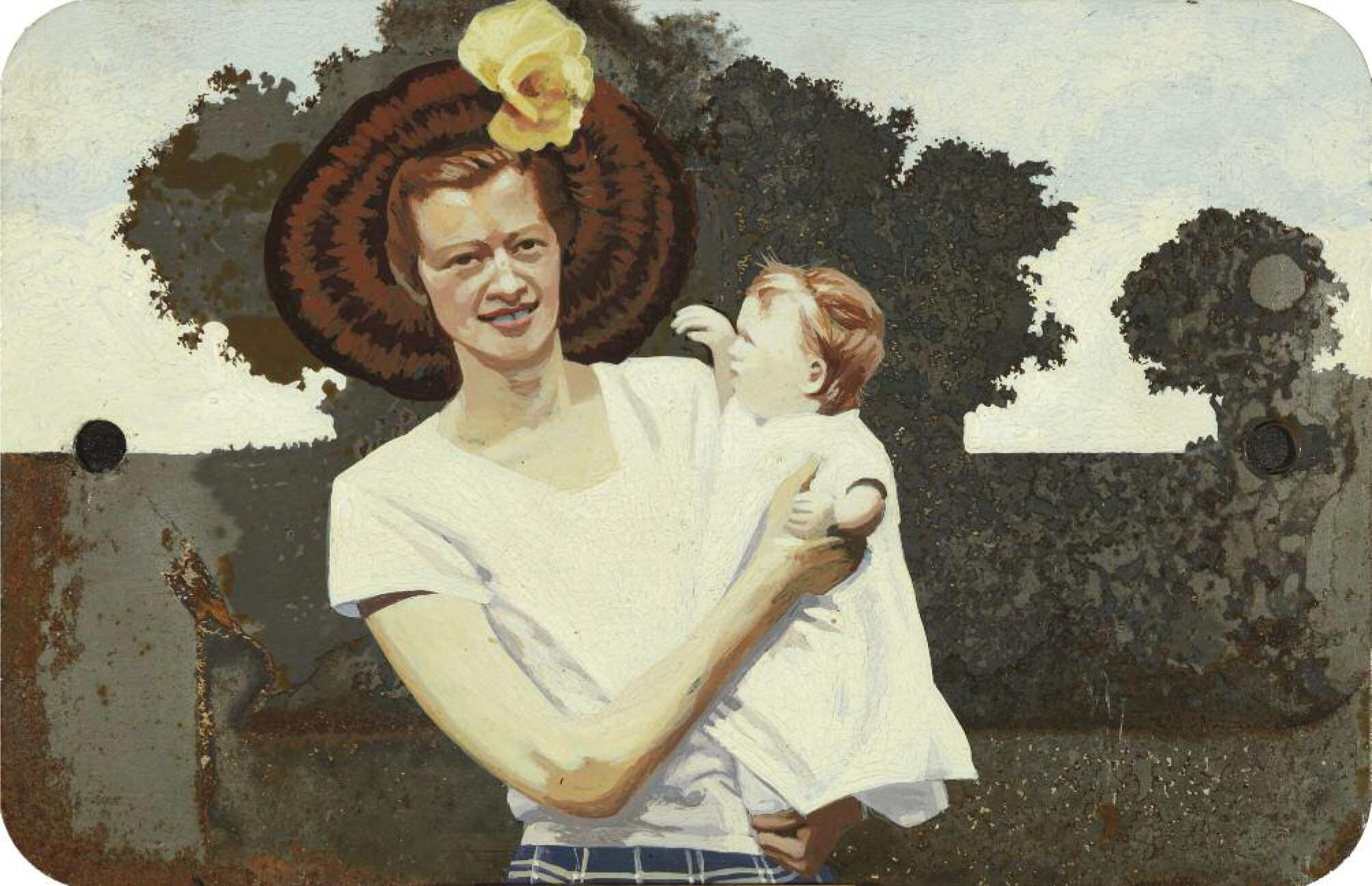 Catherine Barron-Summer Mother-18x27.jpg