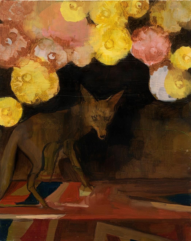 Fox with dahliasX.jpg