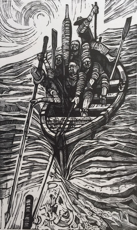 Moby Dick engraving